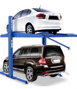 Cầu nâng đỗ xe cho gia đình